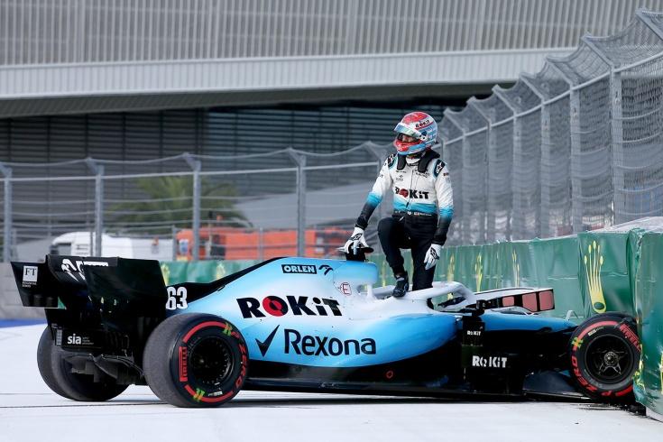 «Уильямс» попросил Кубицу сойти на Гран-при России