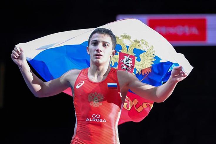 Российские борцы взяли шесть золотых наград