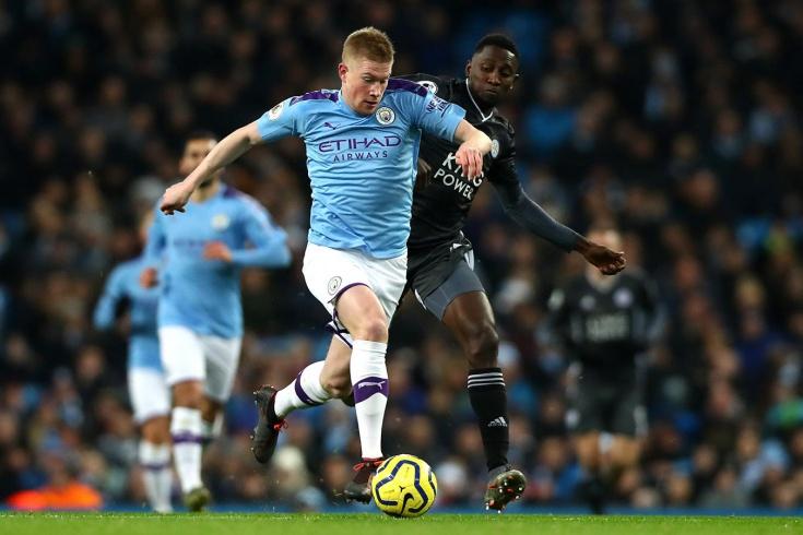 «Манчестер Сити» — «Лестер» — 3:1, голы, видео, обзор матча