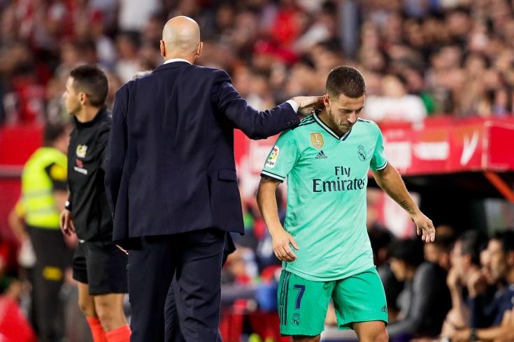Почему Эден Азар не играет в «Реале»?