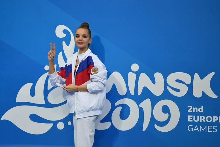 Дина Аверина выиграла золото Европейских Игр-2019