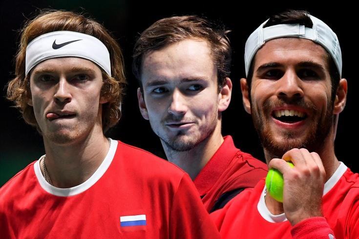 Медведев, Хачанов и Рублёв – российское трио в топ-20. Впервые за 15 лет