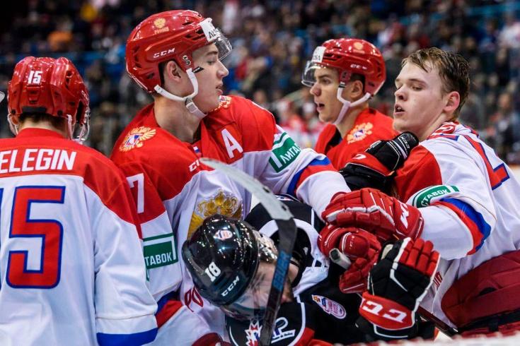 Сборная России U20 – Сборная Канады — 3:4 (ОТ)