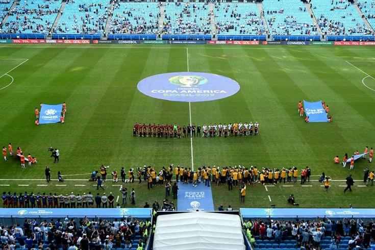 Аргентина играет на полупустых стадионах