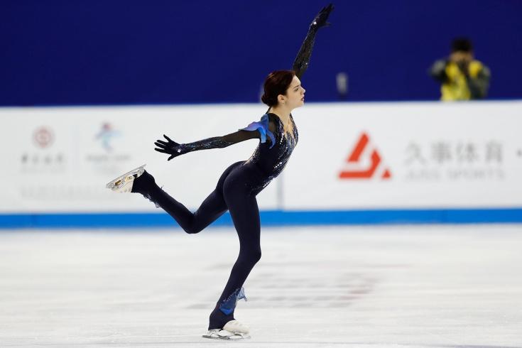 Фигурное катание, Гран-при 2019-Медведева провалилась в короткой программе