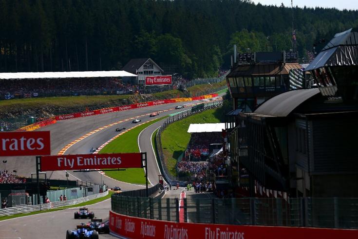 Формула 1. Гран-при Бельгии