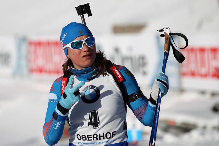 Российская биатлонистка Ольга Подчуфарова будет выступать за Словению