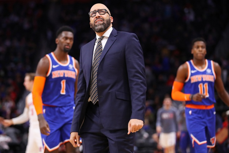 «Нью-Йорк Никс» бьёт антирекорды и увольняет тренеров