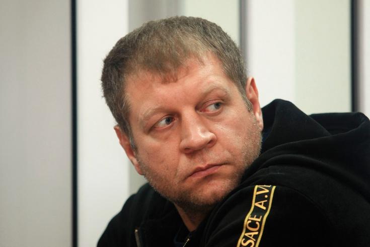 А. Емельяненко прокомментировал инцидент, когда ег