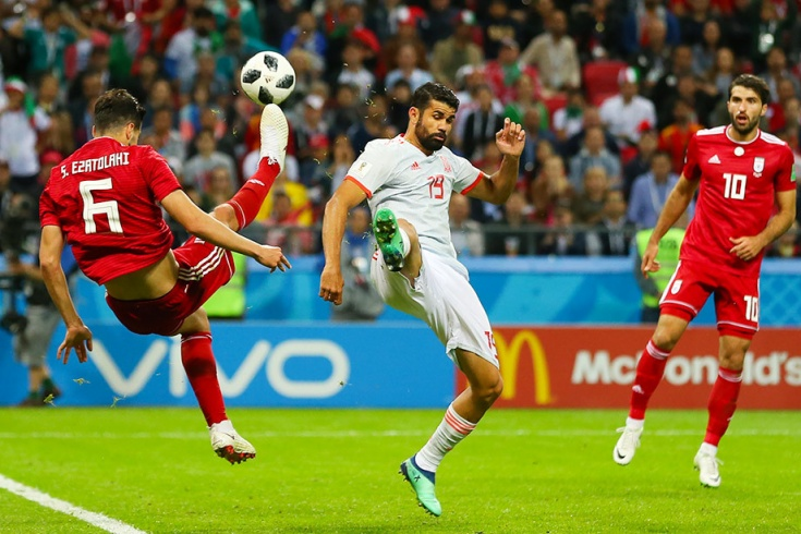 Матч Иран - Испания 20 июня на ЧМ-2018