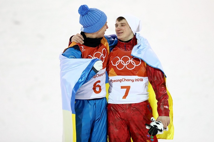 Александр Абраменко и Илья Буров на ОИ-2018