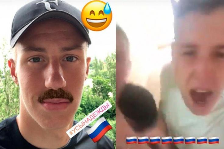 Thủ môn bị sa thải vì... cổ vũ đội tuyển Nga