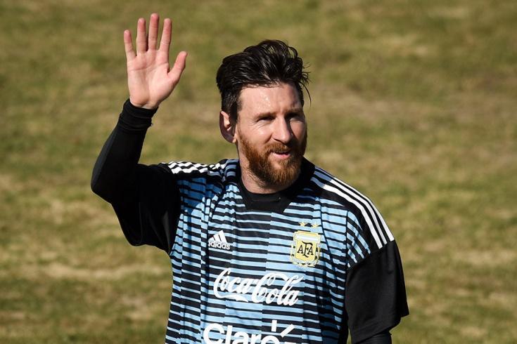 DÇ-2018: Messi meydana çıxır